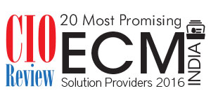 20 Most Promising ECM Solution Providers - 2016